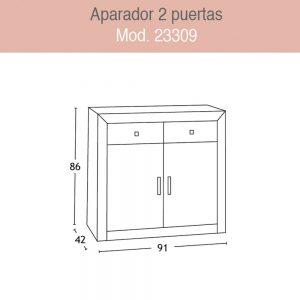 Aparador 23309