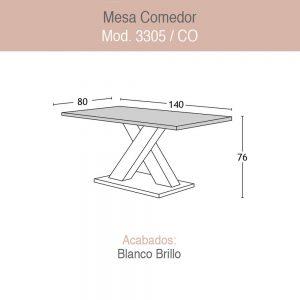 Mesa Comedor 3305CO