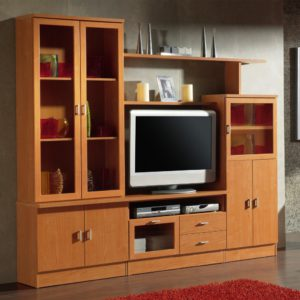 mueble color cerezo